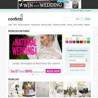 Confetti Wedding Websites image
